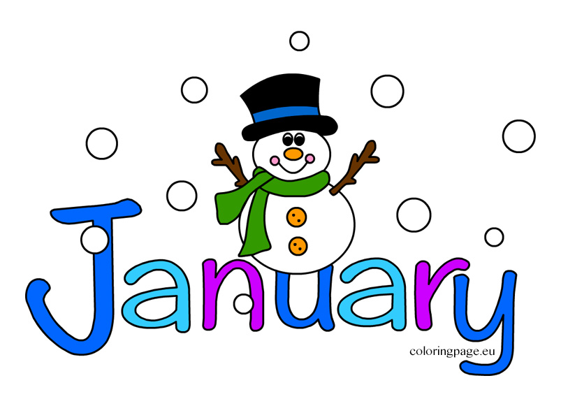 Image result for jan. free clip art